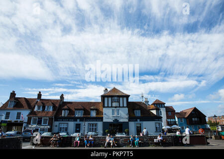 Lymington Harbour, Hampshire - Stock Photo