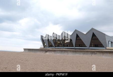 North Sea Observatory, Skegness - Stock Photo