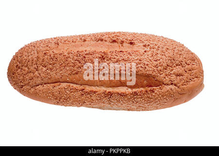 Bread sprinkled with sesame seeds - Stock Photo