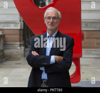 RA, Piccadilly, London, UK. 12 September, 2018. The Art of Making Buildings. Internationally acclaimed Architect Renzo Piano opens exhibition of work. - Stock Photo
