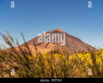 The volcano El Teide in Tenerife, Spain - Stock Photo