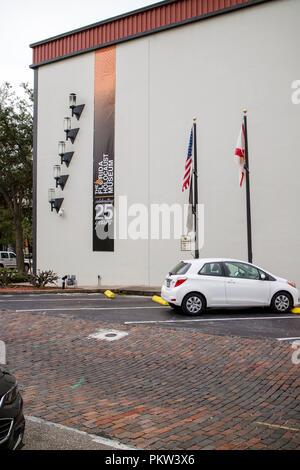 The Florida Holocaust Museum downtown St Petersburg, Florida USA. - Stock Photo