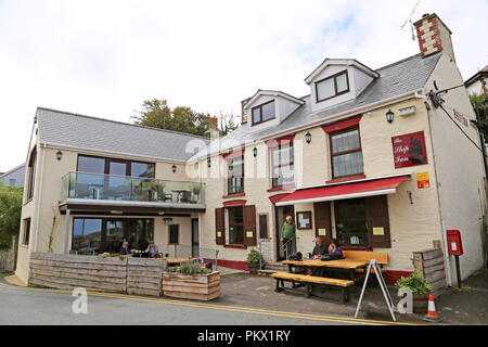 Ship Inn, West Street, Aberporth, Cardigan Bay, Ceredigion, Wales, Great Britain, United Kingdom, UK, Europe - Stock Photo