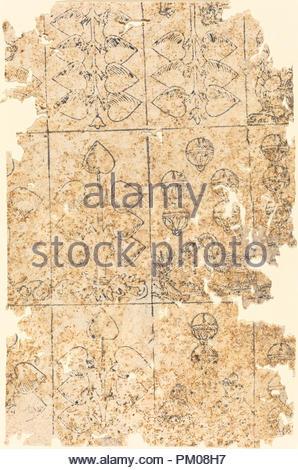 Playing Card. Medium: woodcut. Museum: National Gallery of Art, Washington DC. Author: German 16th Century. - Stock Photo