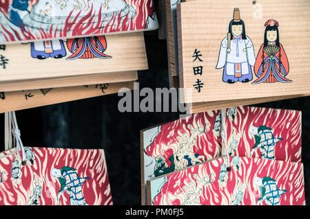 Ema From The Yatadera Temple At Kyoto Japan 2015