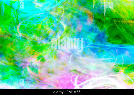 Art abstract colorful pattern background: pink, blue, green - Stock Photo