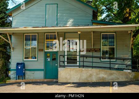 Swank Store and Post Office, 9856 Singers Glen Road, Singers Glen, Virginia - Stock Photo