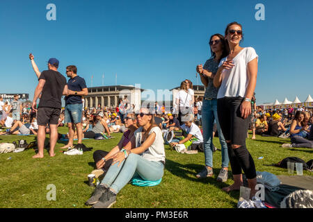 Lollapalooza Berlin 2018 - Stock Photo