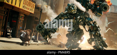 'Transformers' Ironhide © 2007 Dream Works - Stock Photo