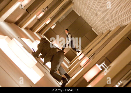 JOSEPH GORDON LEVITT as Arthur in Warner Bros. Pictures' and Legendary Pictures' science fiction action film 'INCEPTION,' a Warner Bros. Pictures release. - Stock Photo
