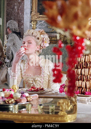 Film Still from 'Marie Antoinette' Kirsten Dunst - Stock Photo