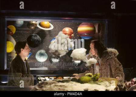 Film Still from 'The Hitchhiker's Guide to the Galaxy' Martin Freeman, Bill Nighy 2005 Photo Credit: Laurie Sparham - Stock Photo