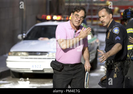 Film Still / Publicity Still from 'World Trade Center' Director Oliver Stone, Nicolas Cage © 2006 Paramount Pictures Photo Credit: Francois Duhamel  File Reference # 30737820THA  For Editorial Use Only -  All Rights Reserved - Stock Photo