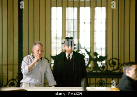 'Public Enemies' Director Michael Mann and Johnny Depp - Stock Photo