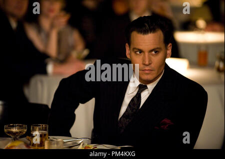 'Public Enemies' Johnny Depp - Stock Photo