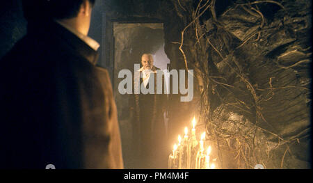 ANTHONY HOPKINS stars as Sir John Talbot in the action-horror inspired by the classic Universal film that launched a legacy of horror, The Wolfman. - Stock Photo
