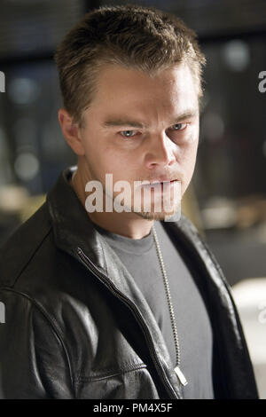 Studio Publicity Still from 'The Departed' Leonardo DiCaprio © 2006 Warner Photo credit: Andrew Cooper   File Reference # 307372356THA  For Editorial Use Only -  All Rights Reserved - Stock Photo