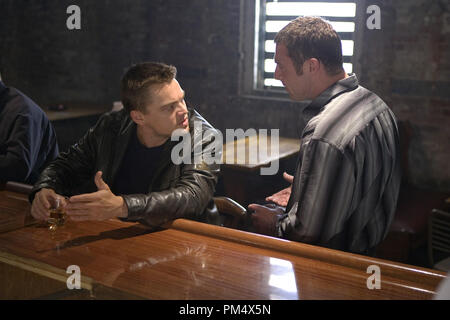 Studio Publicity Still from 'The Departed' Leonardo DiCaprio, David O'Hara © 2006 Warner Photo credit: Andrew Cooper   File Reference # 307372358THA  For Editorial Use Only -  All Rights Reserved - Stock Photo