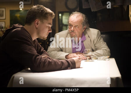 Studio Publicity Still from 'The Departed' Leonardo DiCaprio, Jack Nicholson © 2006 Warner Photo credit: Andrew Cooper   File Reference # 307372359THA  For Editorial Use Only -  All Rights Reserved - Stock Photo
