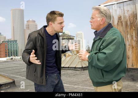 Studio Publicity Still from 'The Departed' Leonardo DiCaprio, Martin Sheen © 2006 Warner Photo credit: Andrew Cooper   File Reference # 307372362THA  For Editorial Use Only -  All Rights Reserved - Stock Photo