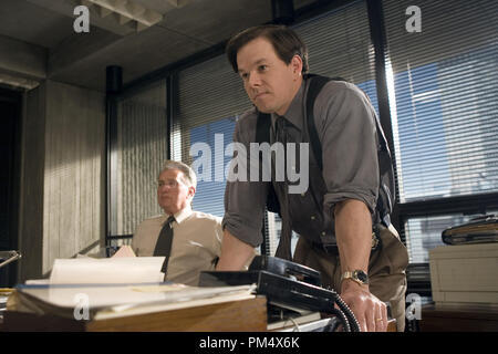 Studio Publicity Still from 'The Departed' Martin Sheen, Mark Wahlberg © 2006 Warner Photo credit: Andrew Cooper   File Reference # 307372368THA  For Editorial Use Only -  All Rights Reserved - Stock Photo