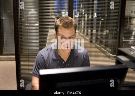 Studio Publicity Still from 'The Departed' Matt Damon © 2006 Warner Photo credit: Andrew Cooper   File Reference # 307372372THA  For Editorial Use Only -  All Rights Reserved - Stock Photo