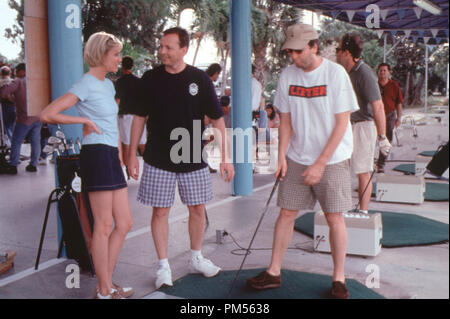 'There's Something About Mary' 1998 Cameron Diaz with director's Bobby and Peter Farrelly - Stock Photo