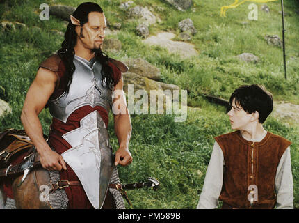 Studio Publicity Still from 'The Chronicles of Narnia: The Lion, the Witch and the Wardrobe'  Patrick Kake, Skandar Keynes © 2005 Walt Disney Pictures Photo by Phil Bray      File Reference # 307361582THA  For Editorial Use Only -  All Rights Reserved - Stock Photo