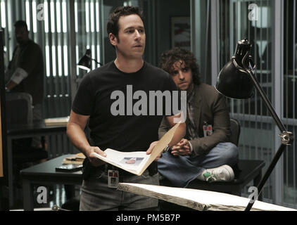 Film Still from 'Numb3rs' (Episode: Trust Metric) Rob Morrow, David Krumholtz 2007 Photo Credit: Robert Voets       File Reference # 30738491THA  For Editorial Use Only -  All Rights Reserved - Stock Photo