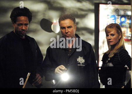 Film Still from 'CSI: Crime Scene Investigation' (Episode: Empty Eyes) Gary Dourdan, William Petersen, Marg Helgenberger 2007 Photo Credit: Ron Jaffe     File Reference # 30738588THA  For Editorial Use Only -  All Rights Reserved - Stock Photo
