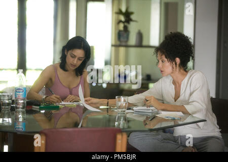Studio Publicity Still from 'A Mighty Heart' Archie Panjabi, Angelina Jolie © 2007 Paramount Vantage Photo credit: Peter Mountain   File Reference # 30738681THA  For Editorial Use Only -  All Rights Reserved - Stock Photo