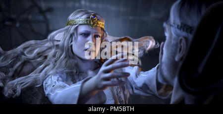 Studio Publicity Still from 'Beowulf'  Queen Wealthow © 2007 Warner    File Reference # 30738771THA  For Editorial Use Only -  All Rights Reserved - Stock Photo
