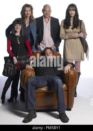 Studio Publicity Still from 'Californication' David Duchovny, Madeleine Martin, Natascha McElhone, Evan Handler, Madeline Zima 2007 Photo credit: Kirk Edwards   File Reference # 30738808THA  For Editorial Use Only -  All Rights Reserved - Stock Photo
