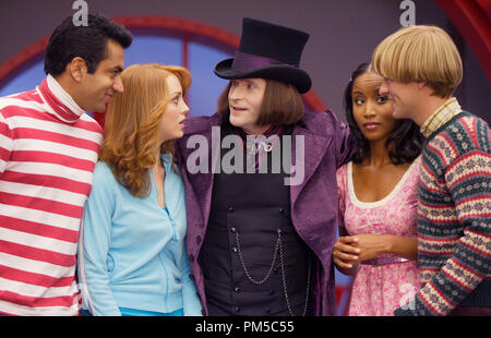 Studio Publicity Still from 'Epic Movie' Crispin Glover, Kal Penn, Jayma Mays, Faune A. Chambers, Adam Campbell © 2007 Regency Entertainment Photo credit: John P. Johnson   File Reference # 30738915THA  For Editorial Use Only -  All Rights Reserved - Stock Photo