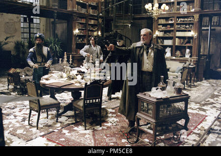 Film Still / Publicity Still from 'The League of Extraordinary Gentlemen' Staurt Townsend, Naseeruddin SHah, Sean Connery, Tony Curran © 2003 20th Century Fox  File Reference # 30753020THA  For Editorial Use Only -  All Rights Reserved - Stock Photo