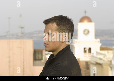 Film Still from 'The Bourne Ultimatum' Matt Damon © 2007 Universal Pictures Photo credit: Jasin Boland   File Reference # 30738402THA  For Editorial Use Only -  All Rights Reserved - Stock Photo