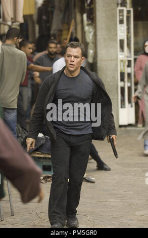 Film Still from 'The Bourne Ultimatum' Matt Damon © 2007 Universal Pictures Photo credit: Jasin Boland   File Reference # 30738403THA  For Editorial Use Only -  All Rights Reserved - Stock Photo