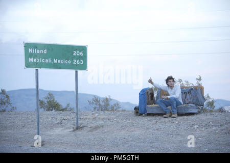 Film Still from 'Into the Wild' Emile Hirsch © 2007 Paramount Vantage Photo credit: Chuck Zlotnick   File Reference # 30738430THA  For Editorial Use Only -  All Rights Reserved - Stock Photo