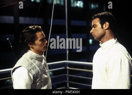 Film Still / Publicity Stills from 'Hamlet' Ethan Hawke, Liev Schreiber © 2000 Miramax Photo Credit: Larry Riley File Reference # 30846449THA  For Editorial Use Only -  All Rights Reserved - Stock Photo