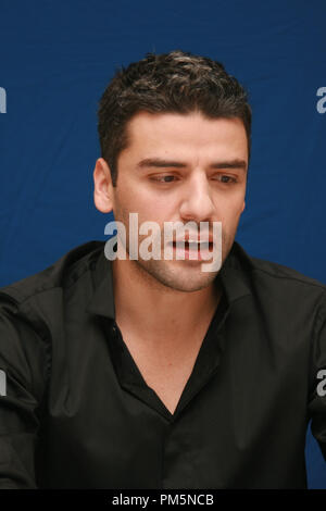 Oscar Isaac 'Sucker Punch'  Portrait Session, March 19, 2011.  Reproduction by American tabloids is absolutely forbidden. File Reference # 30908 016JRC  For Editorial Use Only -  All Rights Reserved - Stock Photo
