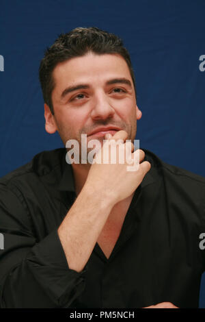Oscar Isaac 'Sucker Punch'  Portrait Session, March 19, 2011.  Reproduction by American tabloids is absolutely forbidden. File Reference # 30908 022JRC  For Editorial Use Only -  All Rights Reserved - Stock Photo