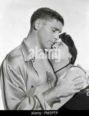 Burt Lancaster, Anna Magnani 'The Rose Tattoo' 1955 Paramount File Reference # 30928 895THA - Stock Photo