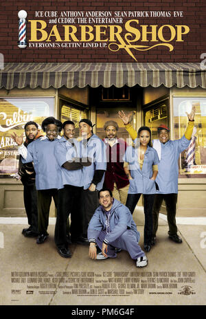 Film Still / Publicity Still from 'Barbershop' Poster © 2002 MGM - Stock Photo