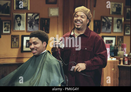 Film Still / Publicity Still from 'Barbershop' Ice Cube © 2002 MGM - Stock Photo