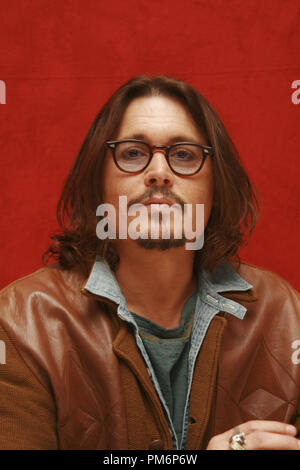 Johnny Depp 'Rango'  Portrait Session, February 14, 2011.  Reproduction by American tabloids is absolutely forbidden. File Reference # 30861 004JRC  For Editorial Use Only -  All Rights Reserved - Stock Photo