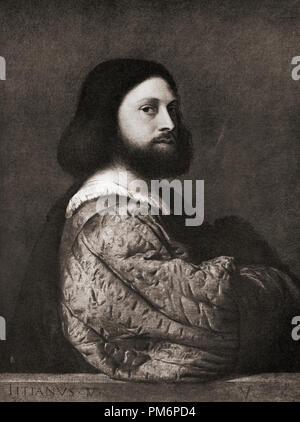 Ludovico Ariosto, 1474 – 1533.  Italian poet. - Stock Photo
