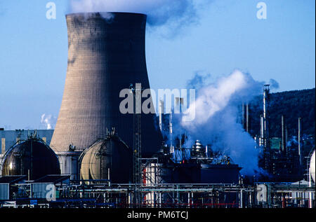 Chemical Industry, Port Talbot, Wales, UK, GB. - Stock Photo