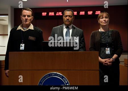 Bryan Cranston Laurence Fishburne Jennifer Ehle Contagion 2011 Stock Photo 55521472 Alamy
