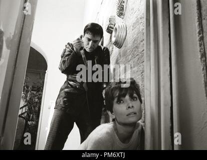 Audrey Hepburn, Alan Arkin 'Wait Until Dark' (1967) Warner  File Reference # 31202 020THA - Stock Photo