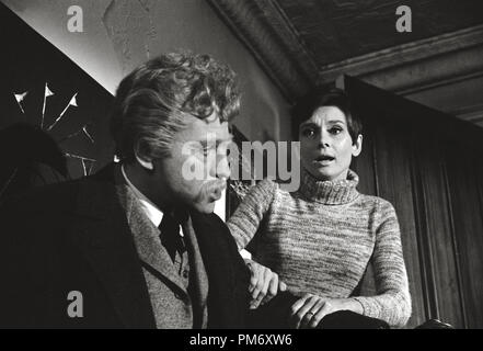 Audrey Hepburn, Alan Arkin 'Wait Until Dark' (1967) Warner  File Reference # 31202 030THA - Stock Photo